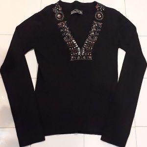 Μπλουζάκι Zara με κέντημα