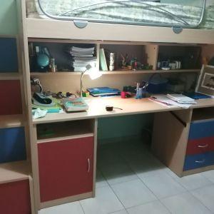 Δωμάτιο κουκετα γραφειο