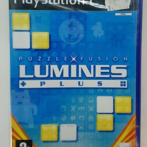 LUMINES PLUS PS2 PLAYSTATION 2 TWO VIDEO GAME EUROPEAN PAL