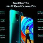 Xiaomi Redmi Note 9 PRO Global Version 128gb - Ολοκαίνουργιο