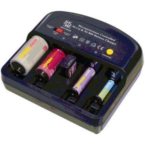 Φορτιστής - αποφορτιστής όλων των τύπων επαναφορτιζόμενων μπαταριών NiCd - NiMh (ΑΑ-ΑΑΑ-C-D-9 volt) [ΤΕΛΕΥΤΑΙΑ ΤΕΜΑΧΙΑ]
