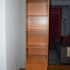 Βιβλιοθήκη με συρταριέρα γραφείου