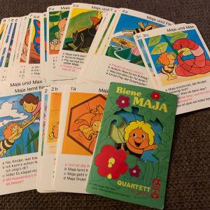 Μάγια η μέλισσα παιχνίδι με κάρτες δεκαετίας 1985