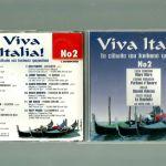 CD - Viva Italia - No2 - Tα είδωλα του Ιταλικού τραγουδιού - CARBONI - MORANDI - MILVA - PATTY PRAVO