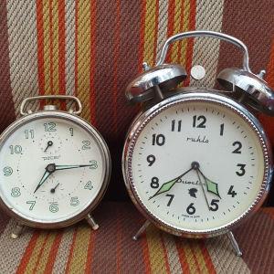 2 Παλιά Ξυπνητήρια