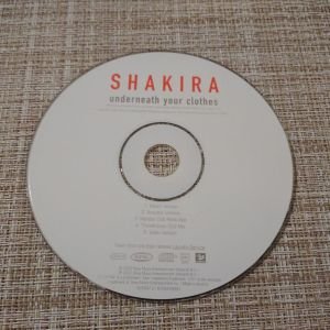 CD *SHAKIRA* Τραγουδια. Σε καλη κατασταση.