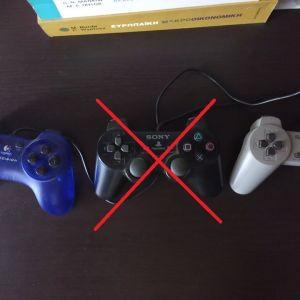 2 Χειριστήρια play station & 1 για PC