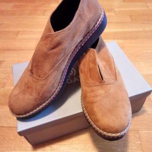 Γυναικεία σουεντ ταμπα παπούτσια