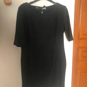 Love Moschino μαύρο mid-length φόρεμα