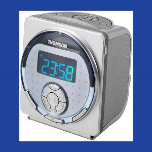Αγγελιες CD Player Digital Stereo Tuner FM Radio Alarm Clock Thomson RR540 CD Player + Ραδιοφωνο + Ξυπνητηρι Ολοκαινουργιο στο κουτι του