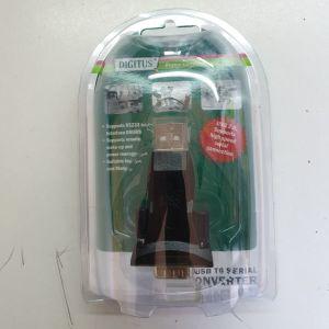 Μετατροπέας USB to SERIAL Converter DIGITUS DA-70156