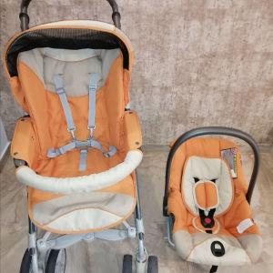 Καροτσάκι μωρόυ 2 σε 1 PRENATAL