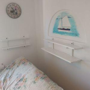 Ράφια τοίχου vintage Π1,20 x Y0,30 m