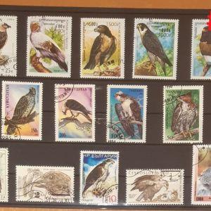 Θεματικά Γραμματόσημα σε καρτέλες