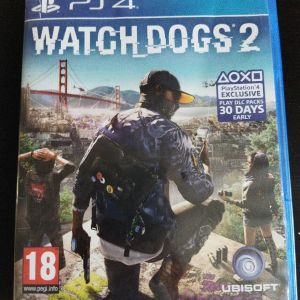Ps4 games watch dogs 2 + κωδικός για ρούχα και αυτοκίνητο