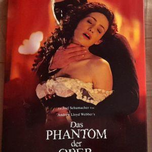 Το φάντασμα της όπερας DVD special edition γερμανική έκδοση 3 δίσκοι