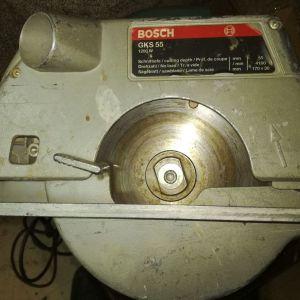 Επαγγελματικο Δισκοπριονο BOSCH GKS 55 1200 Watt