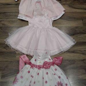 Θα πουλήσω 3 φορέματα ηλικία 1-2 χρόνων!!!!!