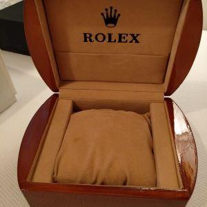 Ξυλινο κουτί Rolex president.