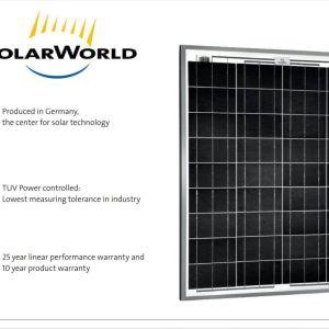 Φωτοβολταϊκο Πανελ Solarworld 80W