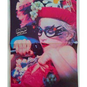 Madonna / Μαντόνα Αφίσα Εποχής Αγόρι