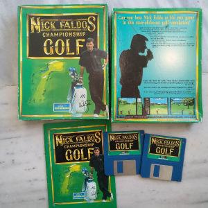 Amiga game Nick Faldos Championship Golf