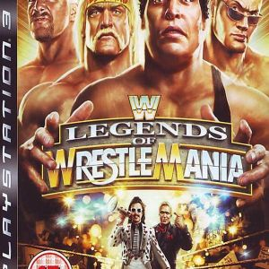 WWE LEGENDS OF WRESTELMANIA - PS3