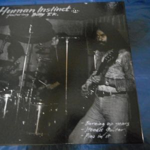 LP  BOX  SET   HUMAN  INSTINCT   Feat.  BILLY  T. K .  -  HUMAN INSTINCT 1969 - 1971
