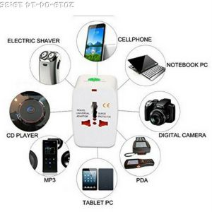 Διεθνές φορτιστή φορτίουUniversal Adapter Φορητός