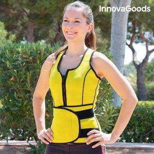 Γυναικείο Αθλητικό Γιλέκο-Κορσές με Επίδραση Σάουνας InnovaGoods, L