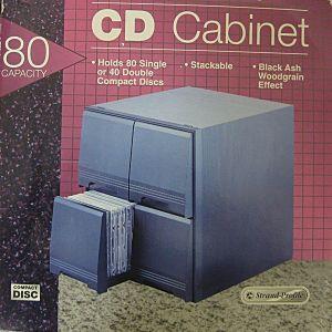 ΞΥΛΙΝΗ ΘΗΚΗ ΓΙΑ 80 CD