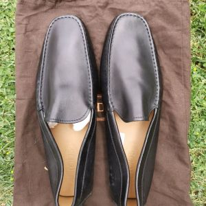 TODS Black Leather Shoes No.11