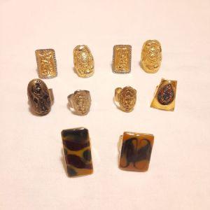 10 Vintage Δαχτυλίδια