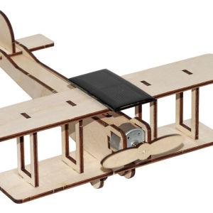Ηλιακά εκπαιδευτικά παιχνίδια σε ξύλινα κιτ συναρμολόγησης