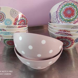 μπολακια - πιάτα για σαλάτες
