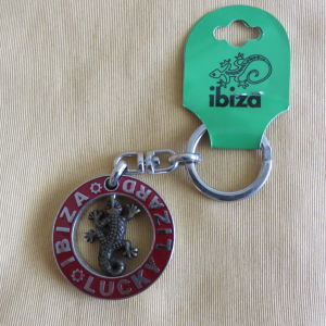 Μπρελοκ Lucky Lizard Ibiza