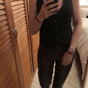 Μαύρο γιλέκο - black vest Zara