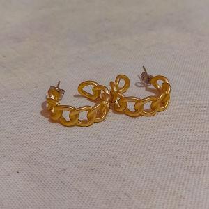 Χρυσά κρικάκια αρχαιοελληνικό στυλ