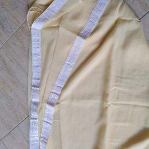 κουρτίνα έτοιμη 3.00χ2.80 κίτρινο απαλό
