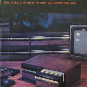 ΘΗΚΗ ΓΙΑ 10 VIDEO CASSETTE VHS