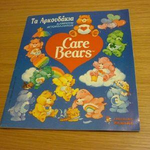 άλμπουμ Panini Τα Αρκουδάκια Care Bears 100% συμπληρωμένο