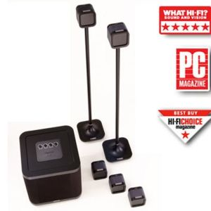 MISSION M-Cube NXT System Σετ ηχείων Home Cinema - Front + Rear 150 WRMS  SUB 250wrms