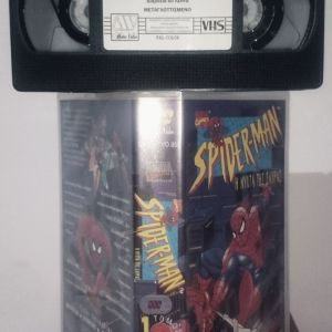 Spider man: The animation series Vol 1-2-3 (vhs)