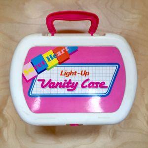 Vintage βαλιτσάκι ομορφιάς παιχνίδι 90's