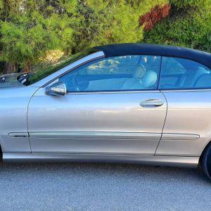 Mercedes clk 200 cabrio avangarde