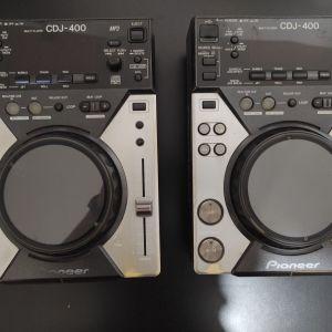 2 Pioneer cdj 400 λειτουργούν άψογα!!