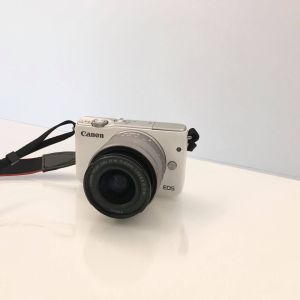 Mirrorless Camera Canon EOS M10 15-45mm White