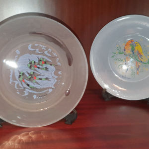 Δύο Διακοσμητικά Πιάτα