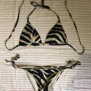 Bikini set- zebra print