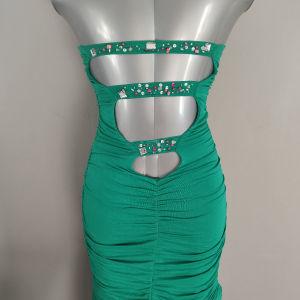 Σμαραγδί Καλοκαιρινό Bodycon Φόρεμα